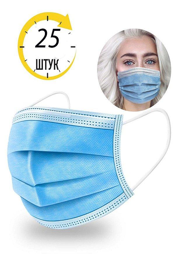 взрослая маска одноразовая маска - фото 1
