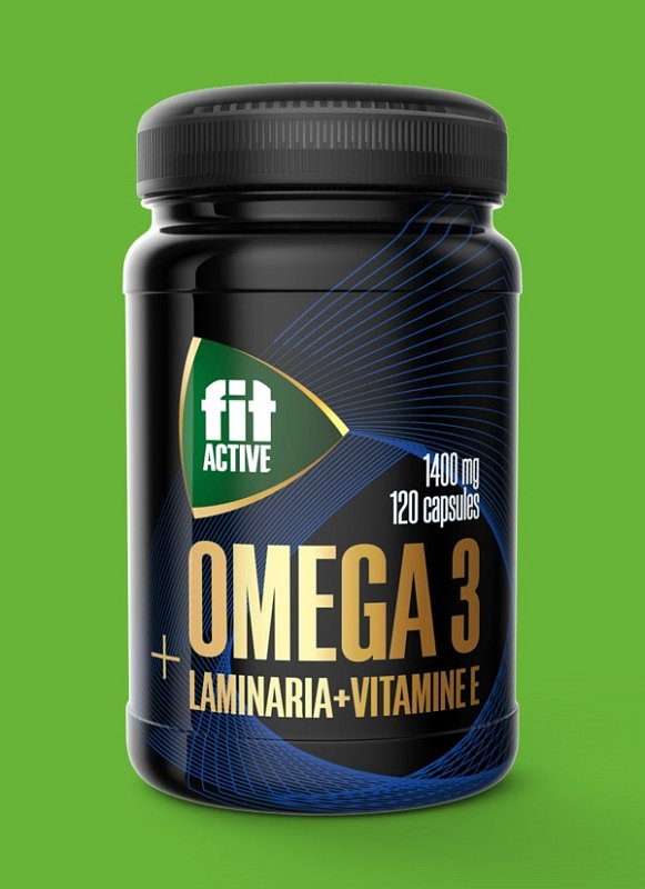 Омега 3 35% с экстрактом ламинарии и витамином Е, капсулы 120 шт по 1400 мг - фото 1