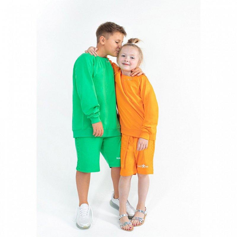 5005117001 Джемпер детский Alexis оранжевый - фото 1