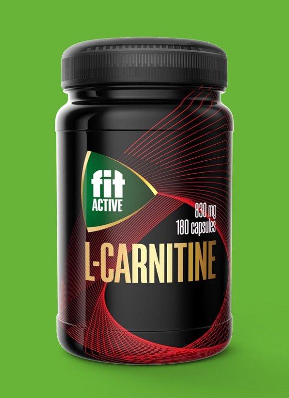 L-карнитин, капсулы 180 шт по 830 мг - фото 1