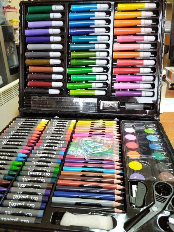 Набор для рисования 150 предметов - фото 1