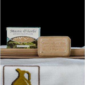 Натуральное мыло с мастикой и шалфеем Anemos, 125г - фото 1