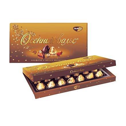 Конфеты в коробке Осенний вальс, Рот Фронт, 320 гр. - фото 1