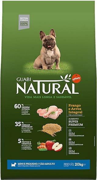 Guabi Natural для взрослых собак мелких пород (Цыпленок и коричневый рис) 2,5 кг - фото 1