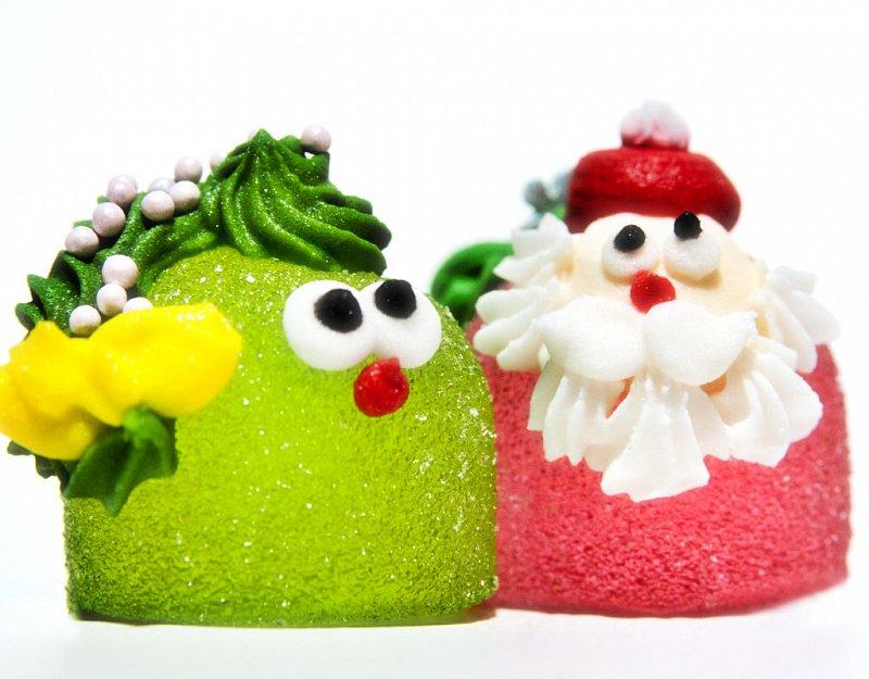 """Мармелад желейный формовой """"Ассорти"""" декорированный сахарной помадой (шб шарик) - фото 1"""
