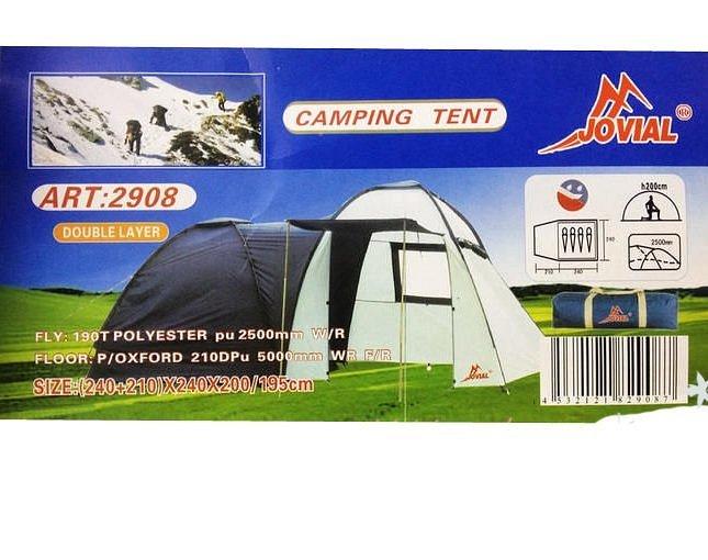 Палатка Jovial Travelling -2908 - фото 1