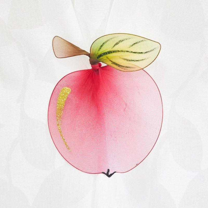 101296 Яблоко - цветное украшение для штор - фото 1