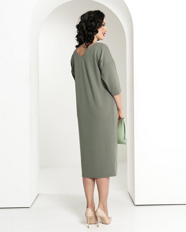 "Платье двустороннее ""Шейла"" (олива) - фото 1"