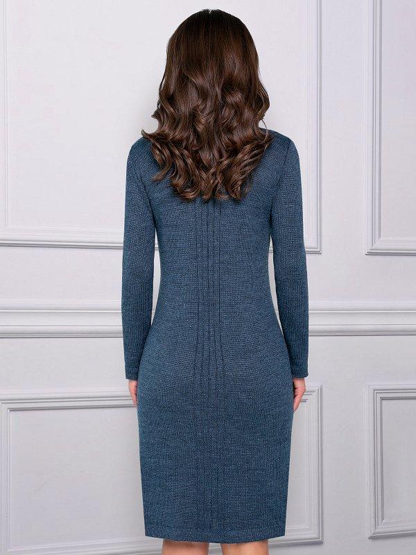 Платье Роскошный подарок (океан)  СНОВА В ПРОДАЖЕ - фото 1