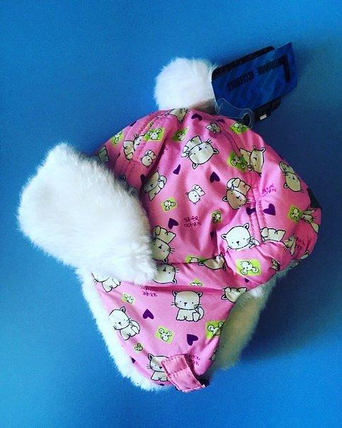 Теплая зимняя шапка-ушанка Lummie цвет Pink Anniki - фото 1