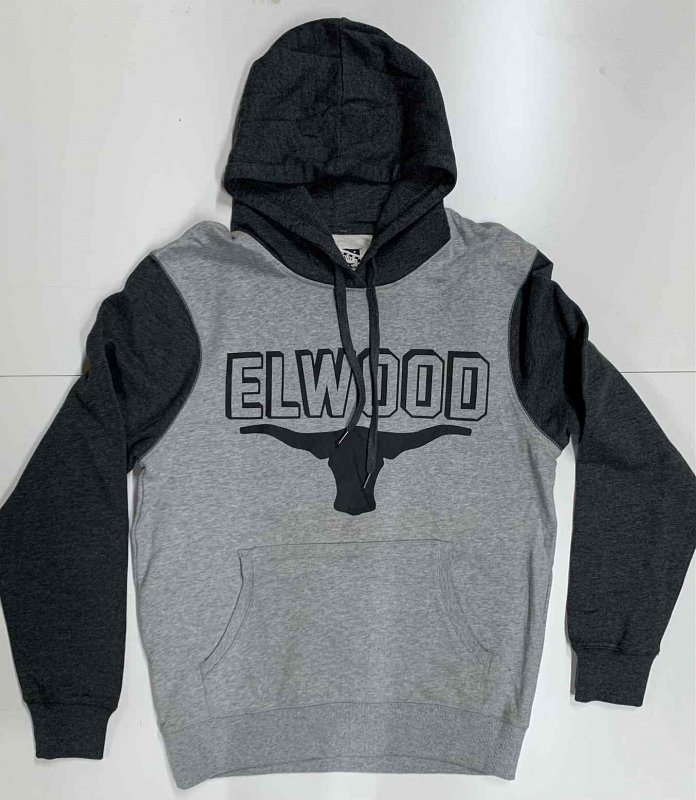 Комбинированная мужская толстовка ELWOOD №6807 - фото 1