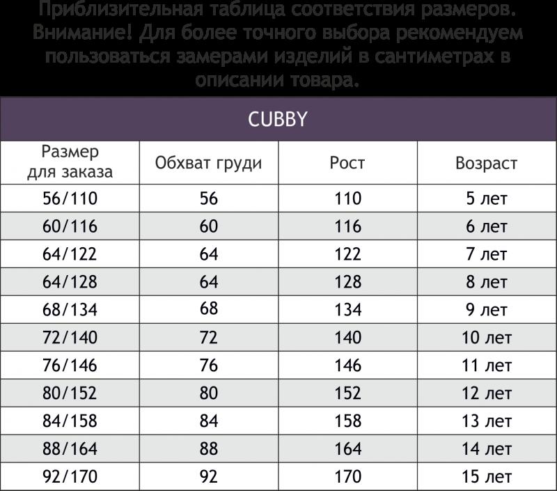 CUB4848 (0439421821) Брюки для мальчика Cubby - фото 1
