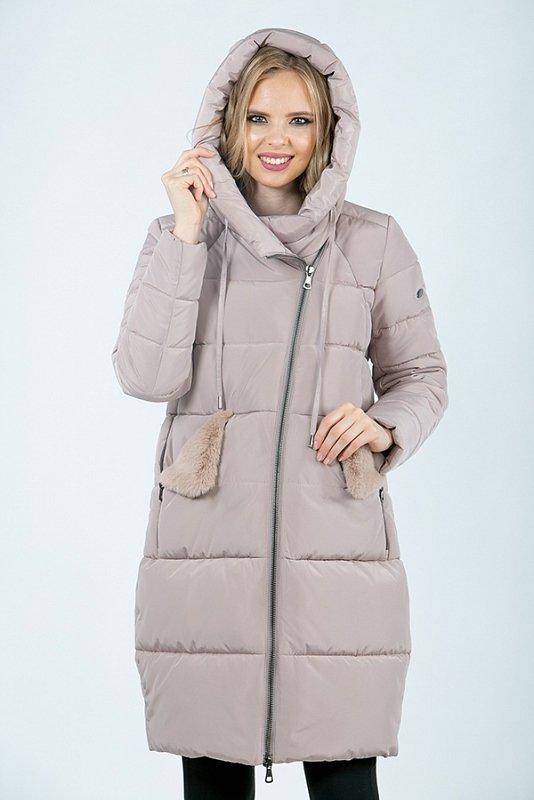 Пальто м-422 Пудра - фото 1