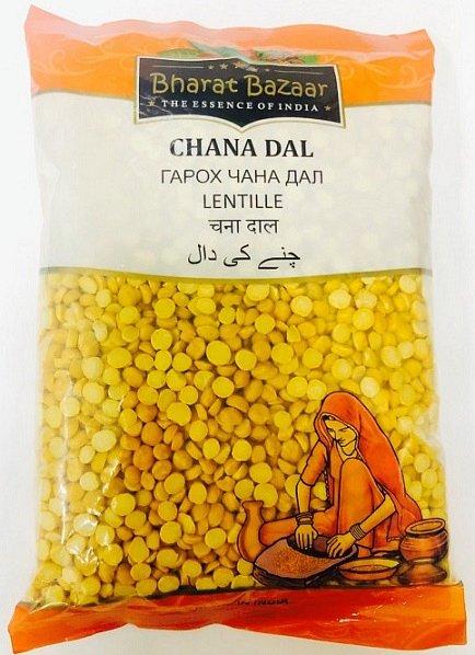 Чана дал (Chana Dal) Bharat Bazaar 500 гр. - фото 1