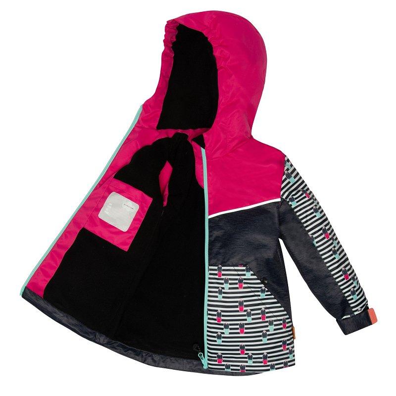 С 30 W 51 SДемисезонный костюм для девочки (куртка + брюки) С687 - фото 1