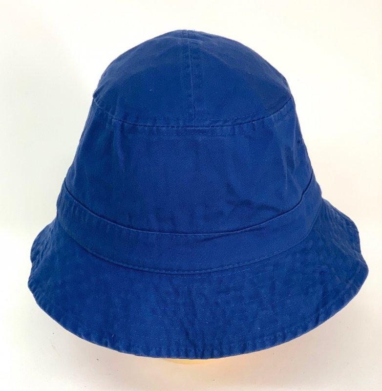 Летняя топовая панама синего цвета №586 - фото 1