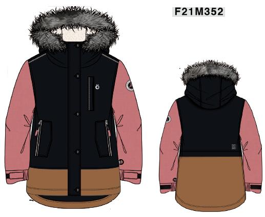 Куртка для девочки F 21 M 352 - фото 1