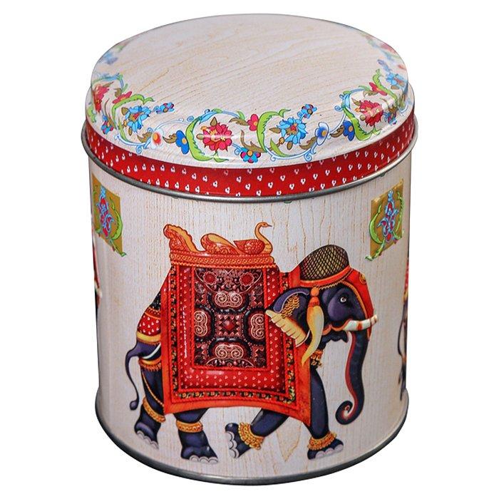"Банка жестяная ""Индийский слон"" 0,8 л Ц99h110v080-01120 - фото 1"