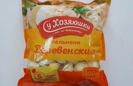 """Пельмени """"Деревенские"""" 0,45 кг - фото 1"""