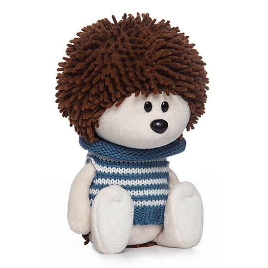 Мягкая игрушка BUDI BASA Ёжик Игоша в свитере - фото 1