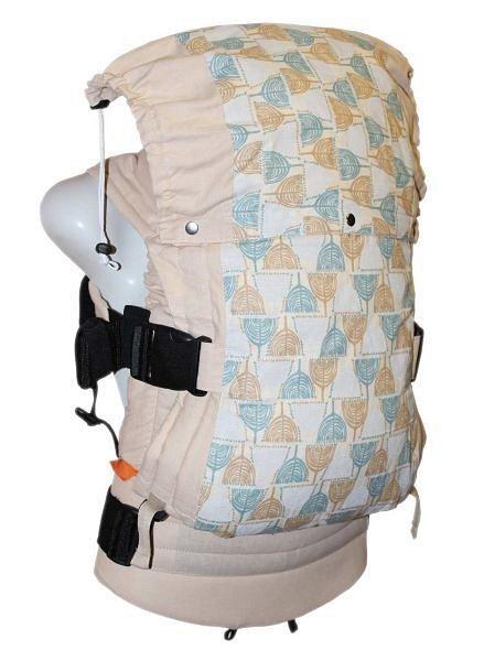 Регулируемый рюкзак без кармана Саванна карамель бежевая (с подголовником) - фото 1