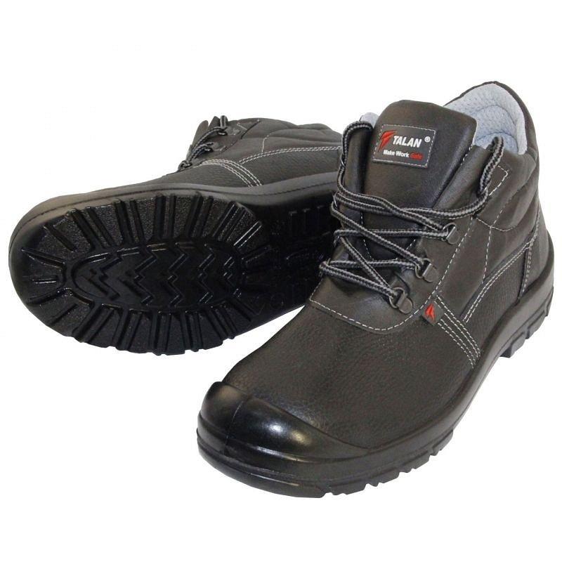 Ботинки Форвард-эконом подошва ПУ (кожа) металл.поднос. - фото 1