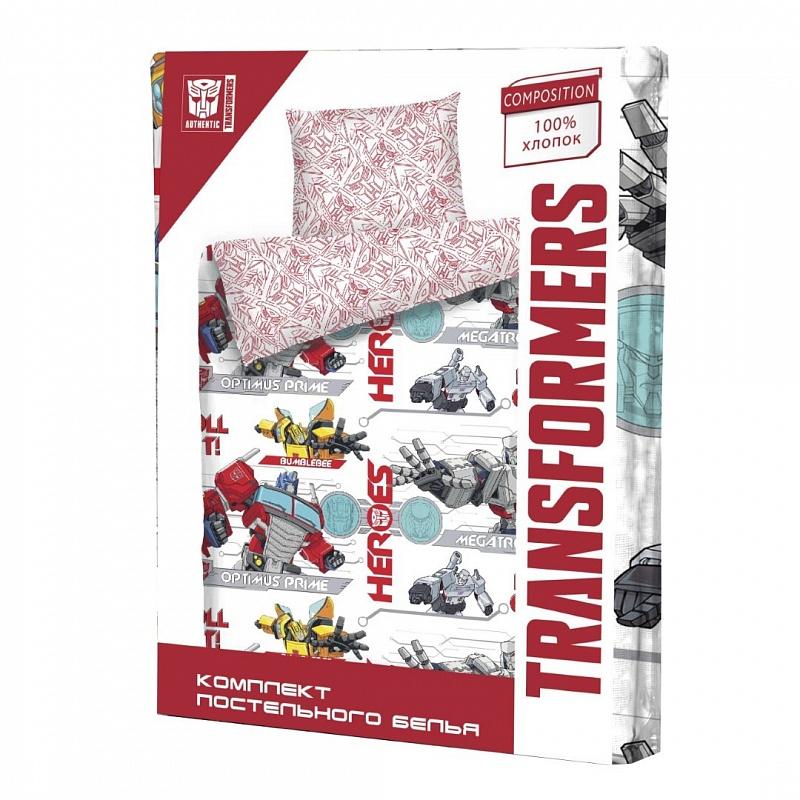 "КПБ 1,5сп н(1)50*70 Transformers ""Megatron"" New КПБ - фото 1"
