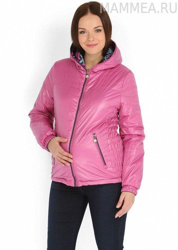 """Куртка демисезонная 2 в 1 двухсторонняя """"Лили"""" (жар-птицы), размер 46 - фото 1"""
