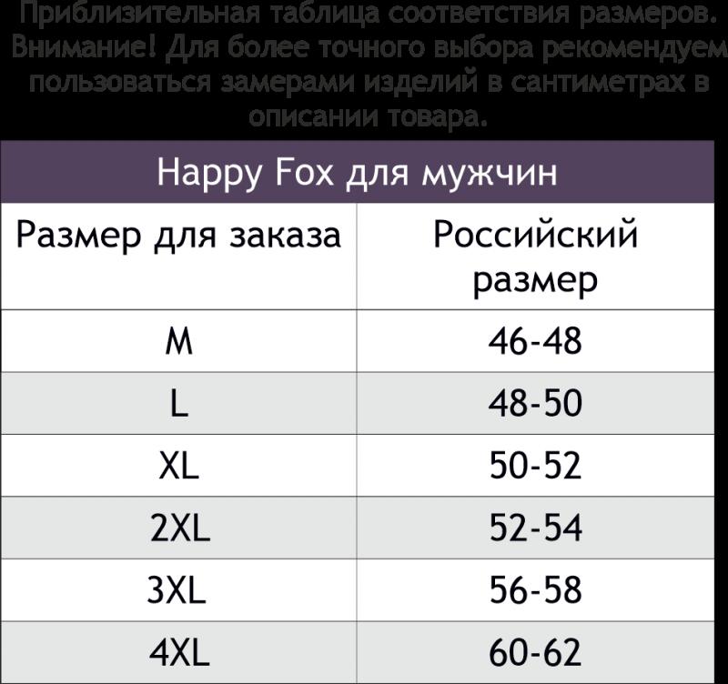 HF8181 (6583039) Футболка мужская Happy Fox - фото 1