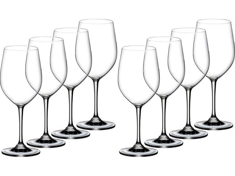 Набор бокалов Viogner/ Chardonnay, 350 мл, 8 шт., цвет: прозрачный, прозрачный, артикул - фото 1