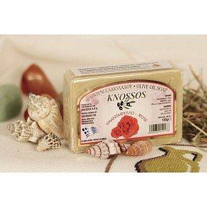 Натуральное оливковое мыло РОЗА Knossos, 100г - фото 1