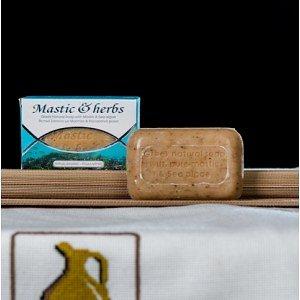 Натуральное мыло с мастикой и морскими водорослями Anemos, 125г - фото 1