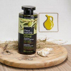 Шампунь для сухих и ослабленных волос MEA Natura Olive, 300мл - фото 1