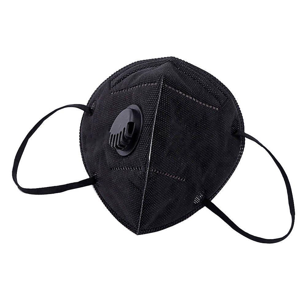 Универсальная маска-респиратор. Черная 1 шт. - фото 1