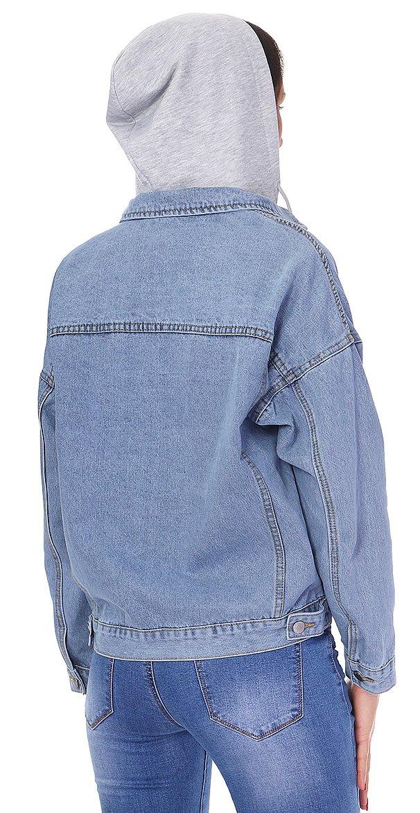 женские куртка с капюшоном YS - фото 1