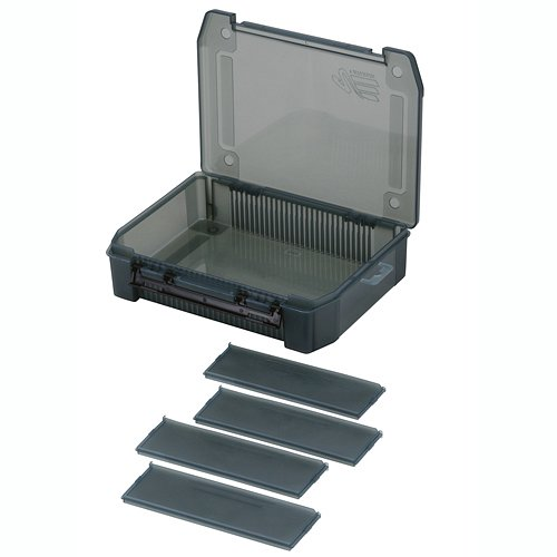 Коробка Рыболовная Meiho Vs-1200Nddm Black 255X190X60 - фото 1