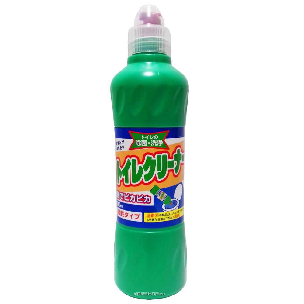 Чистящее средство для унитаза с соляной кислотой Mitsuei, Япония, 500 мл - фото 1