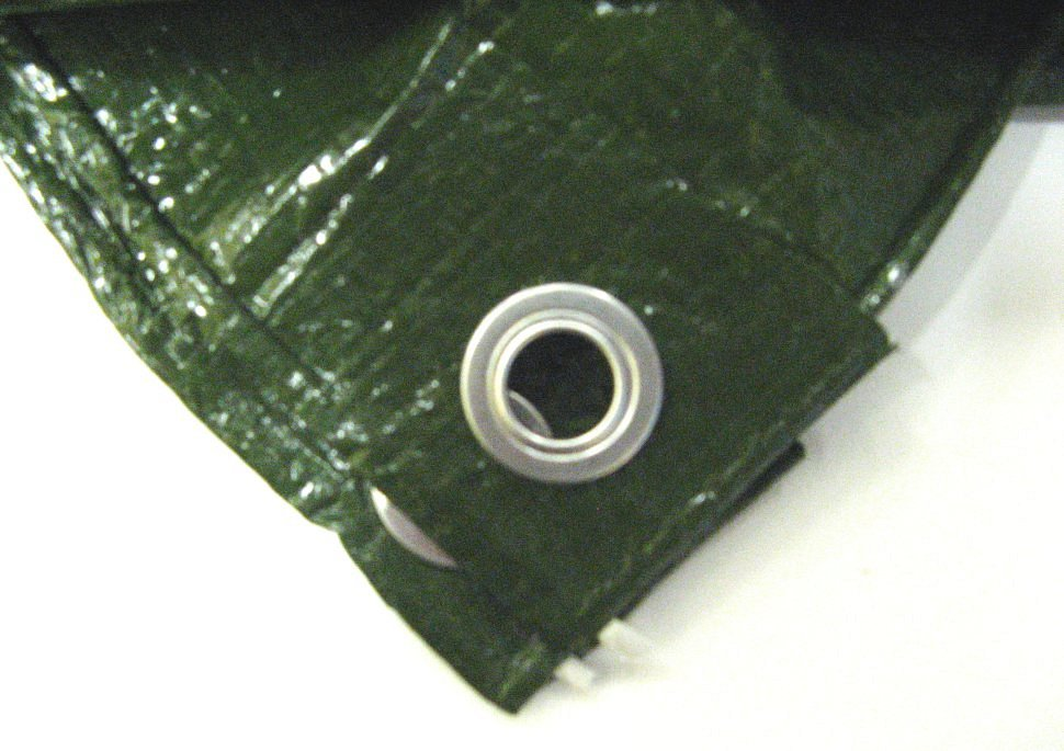 Тент тарпаулин 6*8 м Tramp Lite TLTP-005 - фото 1