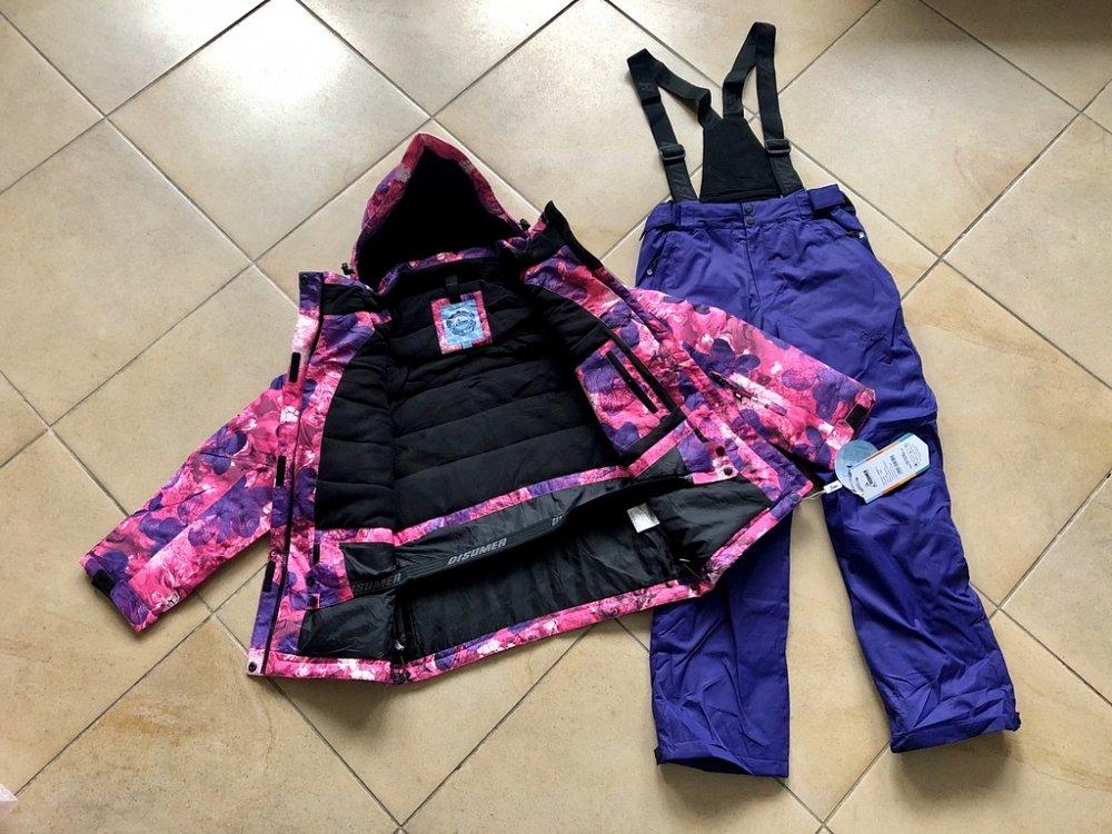 Теплый зимний мембранный комплект Disumer цвет Purple Magic р. 158 - фото 1