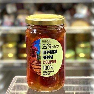 Сливочный сыр Бенито в перцах черри в оливковом масле, Россия, 250г - фото 1
