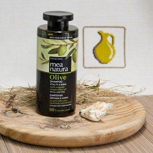 Шампунь для всех типов волос MEA Natura Olive, 300мл - фото 1