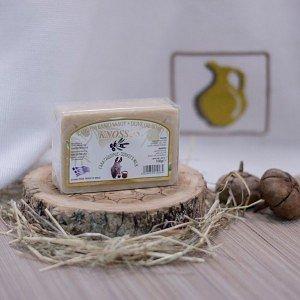 Оливковое мыло с МОЛОКОМ ОСЛИЦЫ Knossos, 100г - фото 1