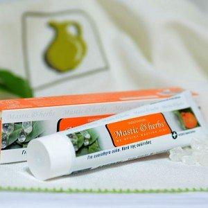 Зубная паста с мастикой Хиос, шалфеем и мандарином Anemos, 100г - фото 1