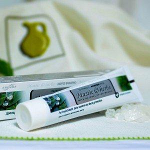 Зубная паста с мастикой Хиос и мятой Anemos, 100г - фото 1
