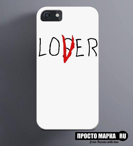 Чехол на iPhone lover loser - фото 1
