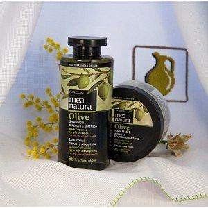 Набор: Шампунь и маска для волос MEA Natura Olive, 2 шт. - фото 1