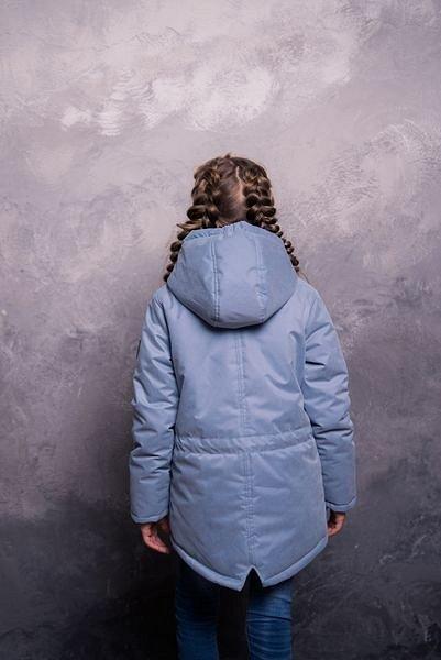 Парка зимняя для девочки - фото 1