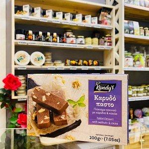 Десерт из кунжута с какао и грецким орехом KANDY'S, Греция, 200г - фото 1