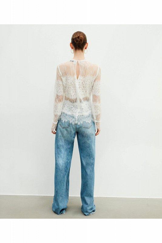Кружевная блуза IW6200006165 - фото 1