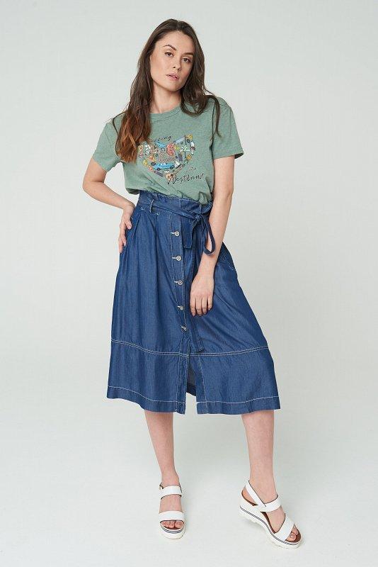 юбка 4200 DENIM_BLUE - фото 1